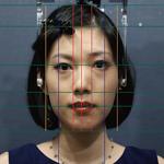 顔のゆがみ検査(2D分析)